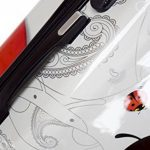 Trolley cabine 55 cm & 50 cm valise rigide abs polycarbonate imperméable avec film de protection - bagages à main pour les vols - Fantasy Papillon de la marque Ormi By G.Kaos image 5 produit