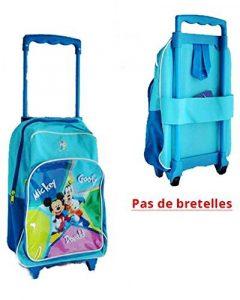 Trolley enfant Mickey Disney - PAS de bretelles - 36x28x10cm - Valise enfant sac école primaire de la marque Disney image 0 produit
