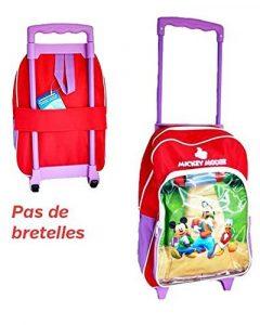 Trolley Mickey Dingo et Donald pour enfant - PAS de bretelles - 36x28x10cm - Bagage Disney de type valise pour l'école primaire et les loisirs de la marque Disney image 0 produit