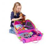 Trunki - 9220006 - Valise pour enfant - Ride-on - Trixie - Rose de la marque Trunki image 2 produit