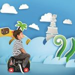 Trunki Pedro the Pirate Ship Ride On and Carry Suitcase (Black) Bagage enfant, 46 cm, 18 liters, Noir de la marque Trunki image 6 produit