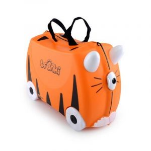 Trunki Ride-On Suitcase Bagage Enfant, 46 cm, 18 L, Orange et Noir de la marque Trunki image 0 produit