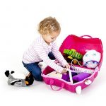 Trunki Trunki Ride-On Suitcase Bagage Enfant, 46 cm, 18 L, Rose 0131-GB01 de la marque Trunki image 2 produit