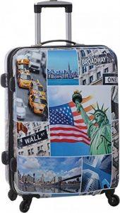 Valise 70 cm rigide en polycarbonate à 4 roues New York de la marque Snowball image 0 produit