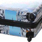 Valise 70 cm rigide en polycarbonate à 4 roues New York de la marque Snowball image 2 produit