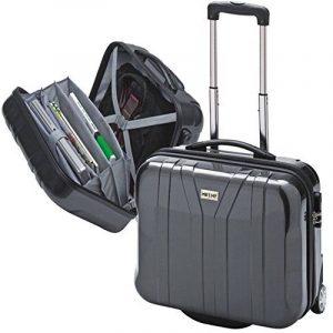Valise avec trolley en polycarbonate compartiment pour PC portable anthracite 39099 de la marque Me and My image 0 produit