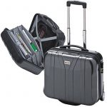 Valise avec trolley en polycarbonate compartiment pour PC portable anthracite 39099 de la marque Me and My image 2 produit