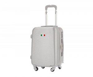 Valise bagage cabine 50cm et 55 cm- Trolley ABS ultra Léger - 4 roues pour voler avec EasyJet - Ryanair art 1165 de la marque JustGlam image 0 produit