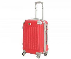 Valise bagage cabine 50cm et 55 cm- Trolley ABS ultra Léger - 4 roues pour voler avec EasyJet - Ryanair art 2022 de la marque JustGlam image 0 produit