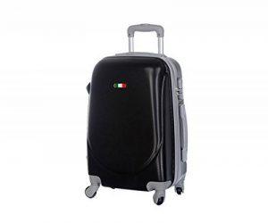 Valise bagage cabine 55cm - Trolley ABS ultra Léger - 4 roues pour voler avec EasyJet - Ryanair de la marque JustGlam image 0 produit