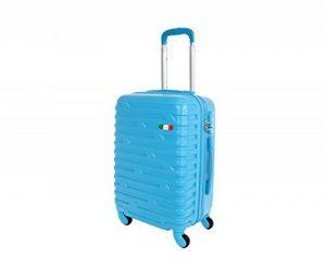 Valise bagage cabine JUSTGLAM 50 cm - trolley abs ultra leger - 4 roues pour voler avec Compagnies aériennes low cost art 2082 de la marque JustGlam image 0 produit