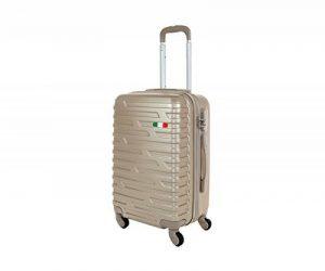 Valise bagage cabine JUSTGLAM 55 cm - trolley abs ultra leger - 4 roues pour voler avec Compagnies aériennes low cost art 2082 de la marque JustGlam image 0 produit