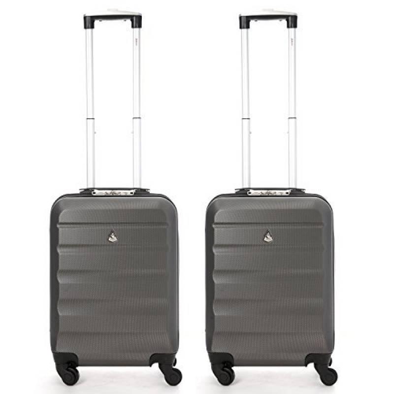 Set de Deux Bagage /à Main Valise /à Roulettes Bagage de Cabine