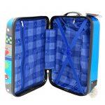 Valise cabine 50 cm Bleu Enfant Snowball de la marque Snowball image 2 produit