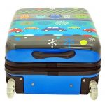 Valise cabine 50 cm Bleu Enfant Snowball de la marque Snowball image 4 produit