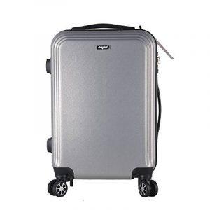Valise cabine 52cm 36L - Sunydeal - ABS ultra L¨¦ger - 4 roues - Argent - Garantie de 12 mois de la marque SUNYDEAL image 0 produit