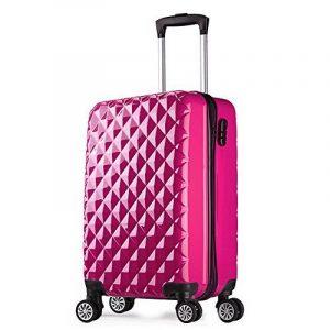 Valise cabine 55 cm ABS bagage cabine rigide 4 roues avion ryanair 4 couleurs 40L de la marque PARTYPRINCE image 0 produit