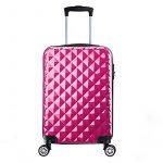 Valise cabine 55 cm ABS bagage cabine rigide 4 roues avion ryanair 4 couleurs 40L de la marque PARTYPRINCE image 1 produit