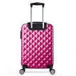Valise cabine 55 cm ABS bagage cabine rigide 4 roues avion ryanair 4 couleurs 40L de la marque PARTYPRINCE image 2 produit