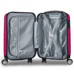 Valise cabine 55 cm ABS bagage cabine rigide 4 roues avion ryanair 4 couleurs 40L de la marque PARTYPRINCE image 6 produit