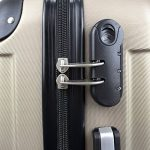 Valise cabine 55 cm - Valisette rigide trolley 4 roues et poignée télescopique - Couleur Noir de la marque Todeco image 4 produit