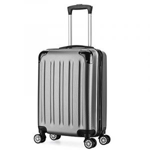 Valise cabine 55cm bagage a main ABS 4 roues rigide ultra leger 6 couleurs 40L de la marque VALIGO image 0 produit