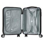Valise cabine 55cm bagage a main ABS 4 roues rigide ultra leger 6 couleurs 40L de la marque VALIGO image 5 produit