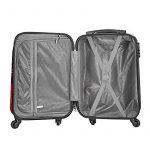 Valise cabine 55cm bagage a main femme enfant avions low cost 4 roues Papillon l¨¦ger 40 L de la marque VALIGO image 5 produit