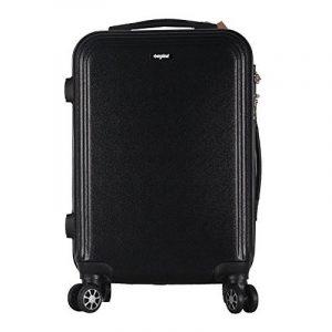 """Valise cabine 62cm 58L 24"""" - Sunydeal - ABS ultra Léger - 4 roues - Noir - Garantie de 12 mois de la marque SUNYDEAL image 0 produit"""