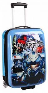 Valise cabine bleue pour enfant de la marque Snowball image 0 produit