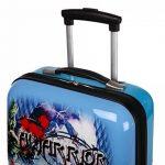 Valise cabine bleue pour enfant de la marque Snowball image 3 produit