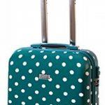 Valise cabine bordgepäck valise rigide pour des voyages de vacances voyage trolley case documents avec cadenas à combinaison tSA 30 l turquoise 813/818 de la marque Karry image 1 produit