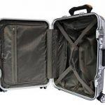 Valise cabine New Star Polycarbonate & Aluminium fermeture sécurisée inviolable de la marque Franck & Lys image 3 produit