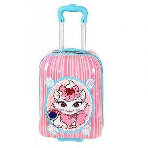 Valise cabine Rose pour fille de la marque Snowball image 0 produit