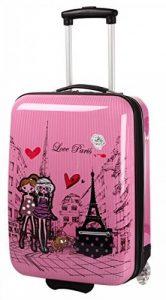 Valise Cabine Rose pour Fille motif Paris Love. de la marque Madisson image 0 produit