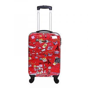 Valise cabine rouge, top 6 TOP 3 image 0 produit