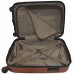 Valise cabine toute compagnie low-cost ou standard ABS Ultra léger dimensions 55 x 35 x 20 cm Noir de la marque Worldline image 1 produit