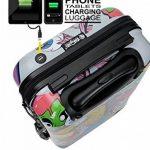 Valise Cabine Trolley Easyjet Ryanair valise approuvé pour vols low cost 55x35x20cm Sac de Voyage 55 cm - Modèle MONSTERS & ZOMBIES (VALISE prête à Charger les portables) de la marque TOKYOTO Luggage image 2 produit