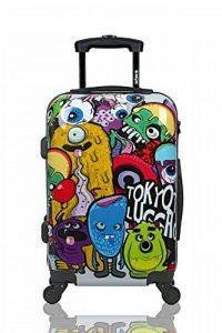 Valise Cabine Trolley Easyjet Ryanair valise approuvé pour vols low cost 55x35x20cm Sac de Voyage 55 cm - Modèle MONSTERS & ZOMBIES (VALISE prête à Charger les portables) de la marque TOKYOTO Luggage image 0 produit