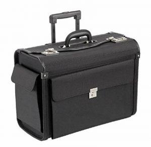 Valise de pilote trolley–Taille XL: 50x 41x 26cm–Roues de la marque Dermata image 0 produit