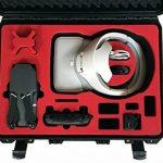 Valise de transport pour DJI googles (montées) et DJI Mavic avec un espace pour 4 batteries et accessoires fait pour MC Cases - Made in Germany - valise outdoor - IP67 étanche à l'eau! de la marque MC-CASES image 1 produit