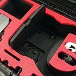 Valise de transport pour DJI googles (montées) et DJI Mavic avec un espace pour 4 batteries et accessoires fait pour MC Cases - Made in Germany - valise outdoor - IP67 étanche à l'eau! de la marque MC-CASES image 4 produit