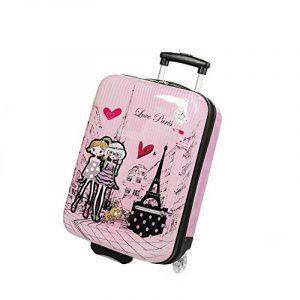 Valise enfant/fille ROSE LOVE PARIS 2031 ABS 50CM de la marque Madisson image 0 produit