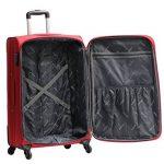 Valise Grande Taille Alistair One 75cm - Toile Nylon Ultra Léger - 4 Roues de la marque Alistair image 3 produit
