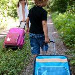 Valise pour enfant à roulettes, faites des affaires TOP 2 image 1 produit