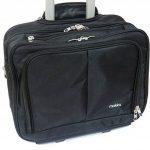 Valise pour ordinateur Mallette Portable iPad Bagage à main à roulettes noir (002 Noir) de la marque Mokka image 2 produit