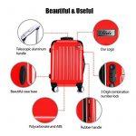 Valise rigide rouge ; comment choisir les meilleurs produits TOP 5 image 6 produit