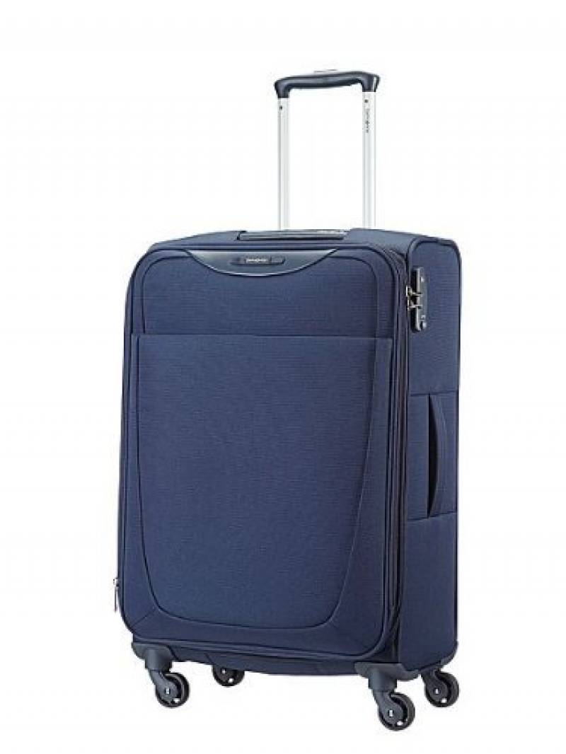 Valise souple Samsonite Dynamo 67 cm Navy Blue bleu pVRaIhHlOR