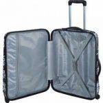 "Valise Street-Art ""Spiessert-Savebag"" 18260/59 Blanc - Valise taille Medium TSA rigide 59cm - 4 Roues 360°- Cap.:102 Litres de la marque Savebag image 1 produit"