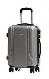 Valise Taille Cabine 55cm Alistair Smart - Abs Renforcé Ultra Légère - 4 Roues Double Multidirectionnelles de la marque Alistair image 0 produit